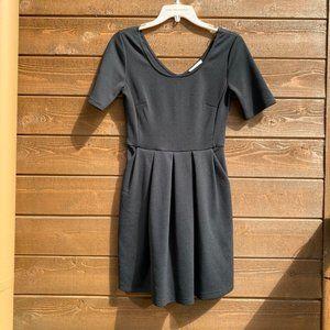 LUSH Little Black Dress with Pockets
